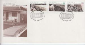 1989 AustraliaThe Urban Environment (Scott 1150-52) FDC