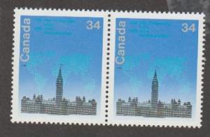Canada Scott #1061 Inter-Parliamentary Union Stamp - Mint NH Pair
