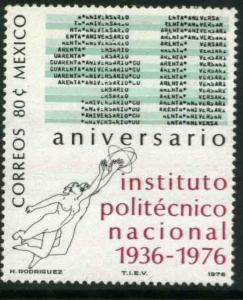 MEXICO 1152 40th Anniv National Polytechnic Institute MINT, NH. F-VF.