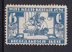 Netherlands Indies  #B11   MH  1931  aid of Leper colony  15c