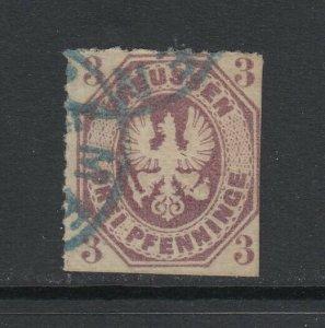 Prussia (German States), Scott 14, used
