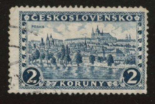 CZECHOSLOVAKIA Scott 119 Used 1926
