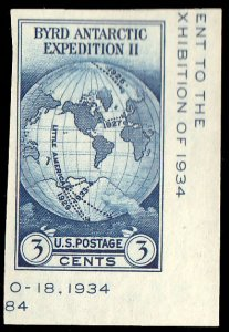 United States Scott 735a Unused no gum as issued.