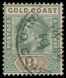 Gold Coast Scott 47 Gibbons 47 Used Stamp