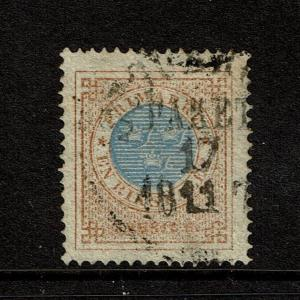 Sweden SC# 27 Used / Perf 14 - S1723