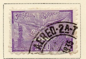 Brazil 1930-31 Early Issue Fine Used 3000r. NW-12105