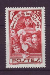 J19422 Jlstamps 1936 france set of 1 mh #b45 people