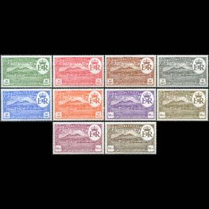 MONTSERRAT 1982 - Scott# 483A-J Settlement Set of 10 NH