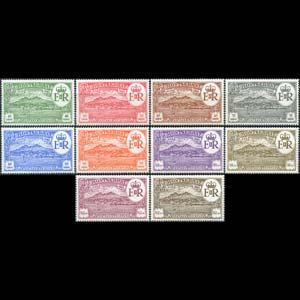 MONTSERRAT 1982 - Scott# 483A-J Settlement Set of 10 NH