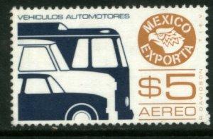 MEXICO Exporta C601, $5P Motor vehic Wmkd Fosfo Paper 2. MINT, NH. F-VF.
