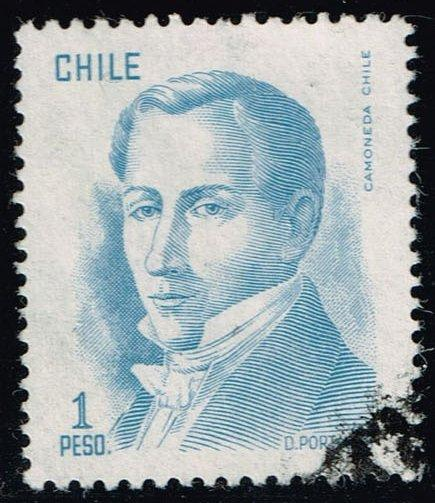 Chile #481 Diego Portales; Used (0.25)