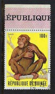 GUINEA 534 VFU FAUNA Z1895-1