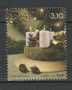 Croatia 2014 Christmas MNH stamp