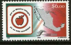 MEXICO 2291, National Campaign Against Corruption. MINT, NH. VF.