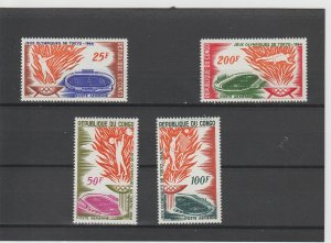 People's Republic of Congo  Scott#  C20-C23  MNH  (1964 Olympic Games)