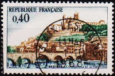 France. 1968 40c S.G.1802 Fine Used