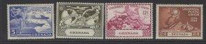 GRENADA SG168/71 1949 UPU MTD MINT