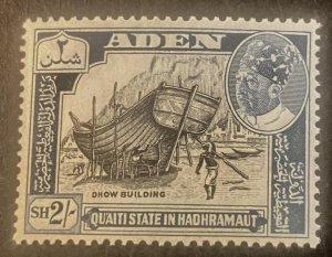 Aden Scott 50 State of Hadhramaut 2 Schilling-Mint NH