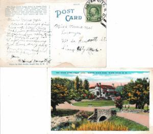 United States South Dakota Silver City 1932 4c-bar  1929-1964  PPC (The State...