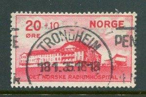 Norway #B4 Used (LOT#L)
