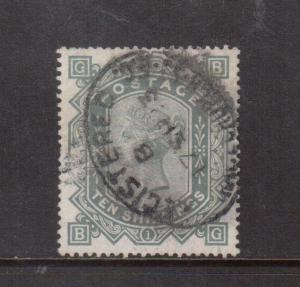 Great Britain #91a Very Fine Used Scarce On White Paper