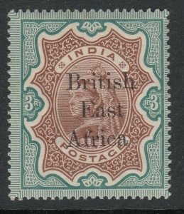 British East Africa, Sc 69 (SG 62), MHR