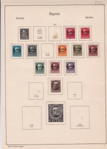 german 1919 stamps page ref 17459