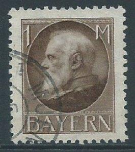 Bavaria, Sc #109, 1m Used