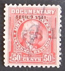 1941, USA, Duane 1941, Documentary Stamp, 50c (2115-Т)