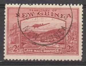 NEW GUINEA 1939 BULOLO AIRMAIL 2/-
