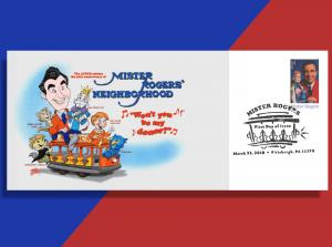 Won't You Be My Donor?,  Asks Mister Rogers on AFDCS Fundraising FDC