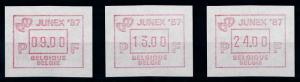 [69248] Belgium 1987 ATM Junex  MNH
