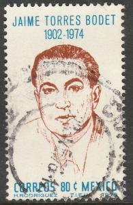 MEXICO 1141 In Memoriam J. Torres Bodet Dir of UNESCO Used (670)