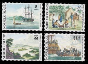 Norfolk Island 452 - 455 MNH