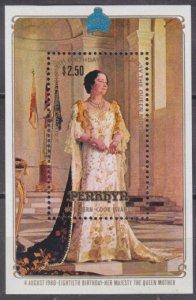 1980 Penrhyn Island 150/B21 80th anniversary of Queen Elizabeth