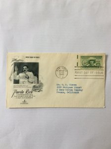 1949 First Governor 3c First day cover. San Juan PR post mark to Fresno.