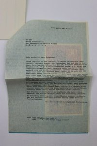 Germany Post Office Berlin 1969 Philatelic Brochure Ad stamp letter collector