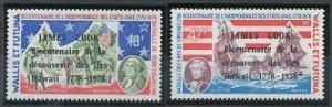 Wallis and Futuna 205-206 MNH (1978)