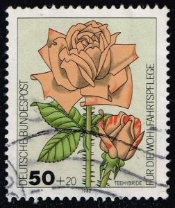 Germany #B600 Tea-Rose Hybrid; Used (0.45)