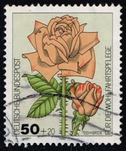 Germany #B600 Tea-Rose Hybrid; Used (0.45)