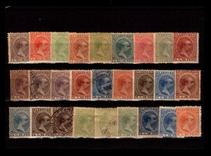 Puerto Rico 27 Mint and Used, with faults - C2527