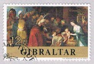 Gibraltar Painting 12p - pickastamp (AP103406)