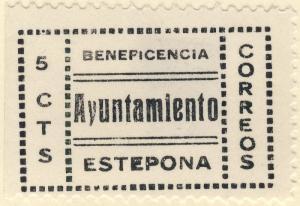 ESPAGNE / SPAIN / ESPAÑA - ESTEPONA (Malaga) 5c Sofima #1 - (Emisiones Locales)