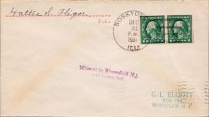 United States Illinois Boskydell 1931 4c-bar  1885-1931  Philatelic.