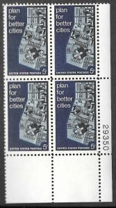 US Scott 1333 - Plate Block of 4 - MNH