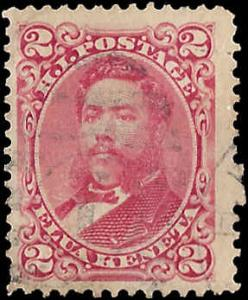 Hawaii 43 Used... SCV $1.00