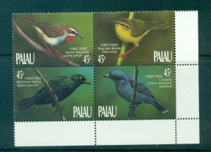 Palau - Sc# 234a. 1990 Birds.  MNH Block of 4. $4.00.