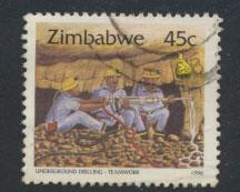 Zimbabwe SG 896a Used