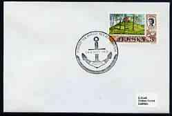 Postmark - Jersey 1972 cover bearing illustrated cancella...