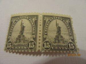 SCOTT  696 STATUE OF LIBERTY  1931 OG